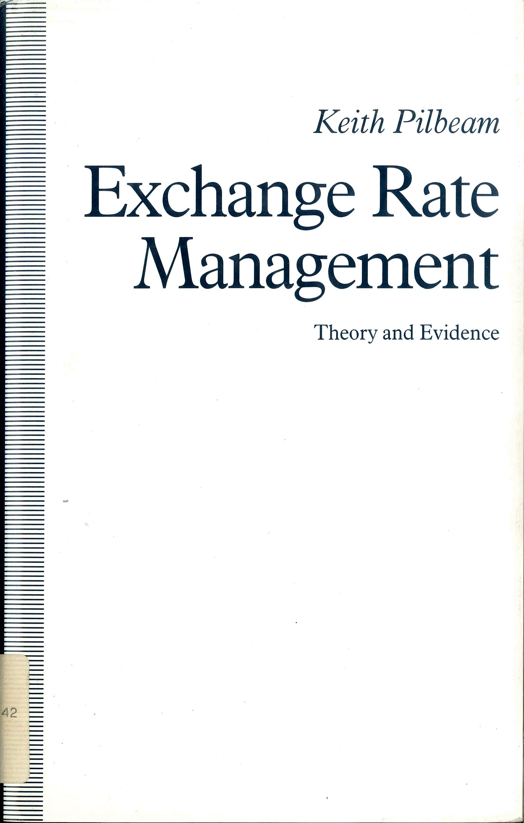 Phd thesis of exchnge rates
