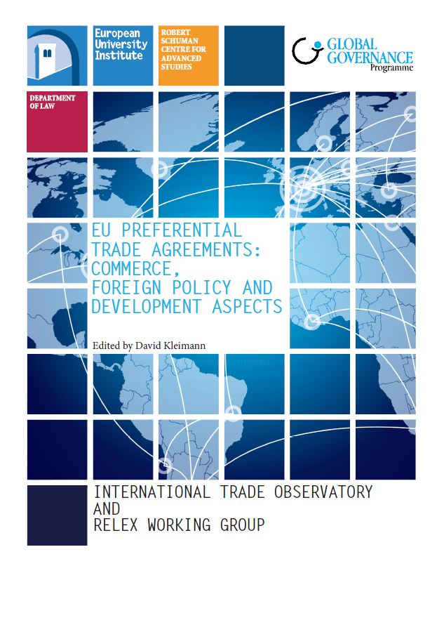 Eu Preferential Trade Agreements Commerce Foreign Policy And