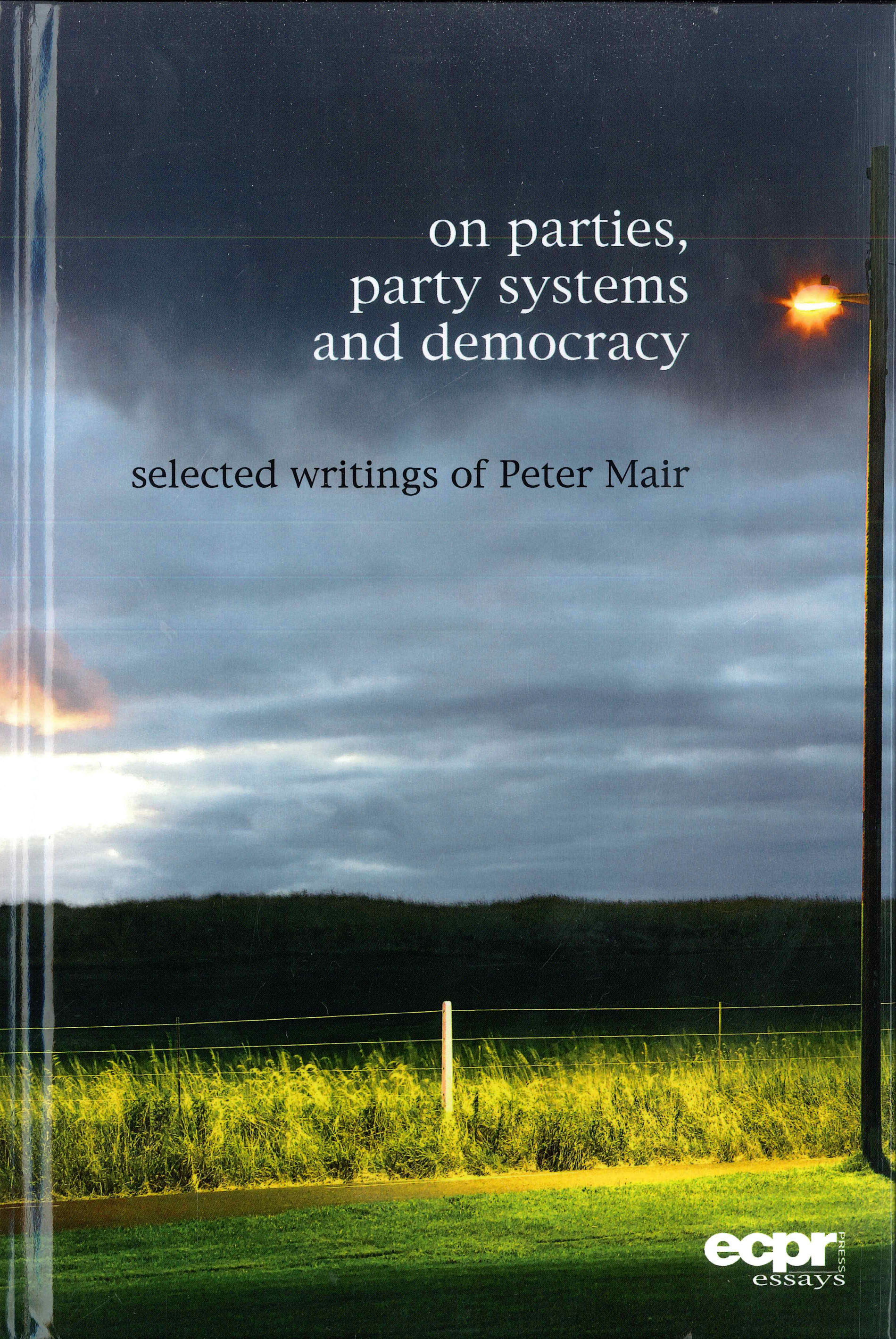 on parties party systems and democracy selected writings of files in this item