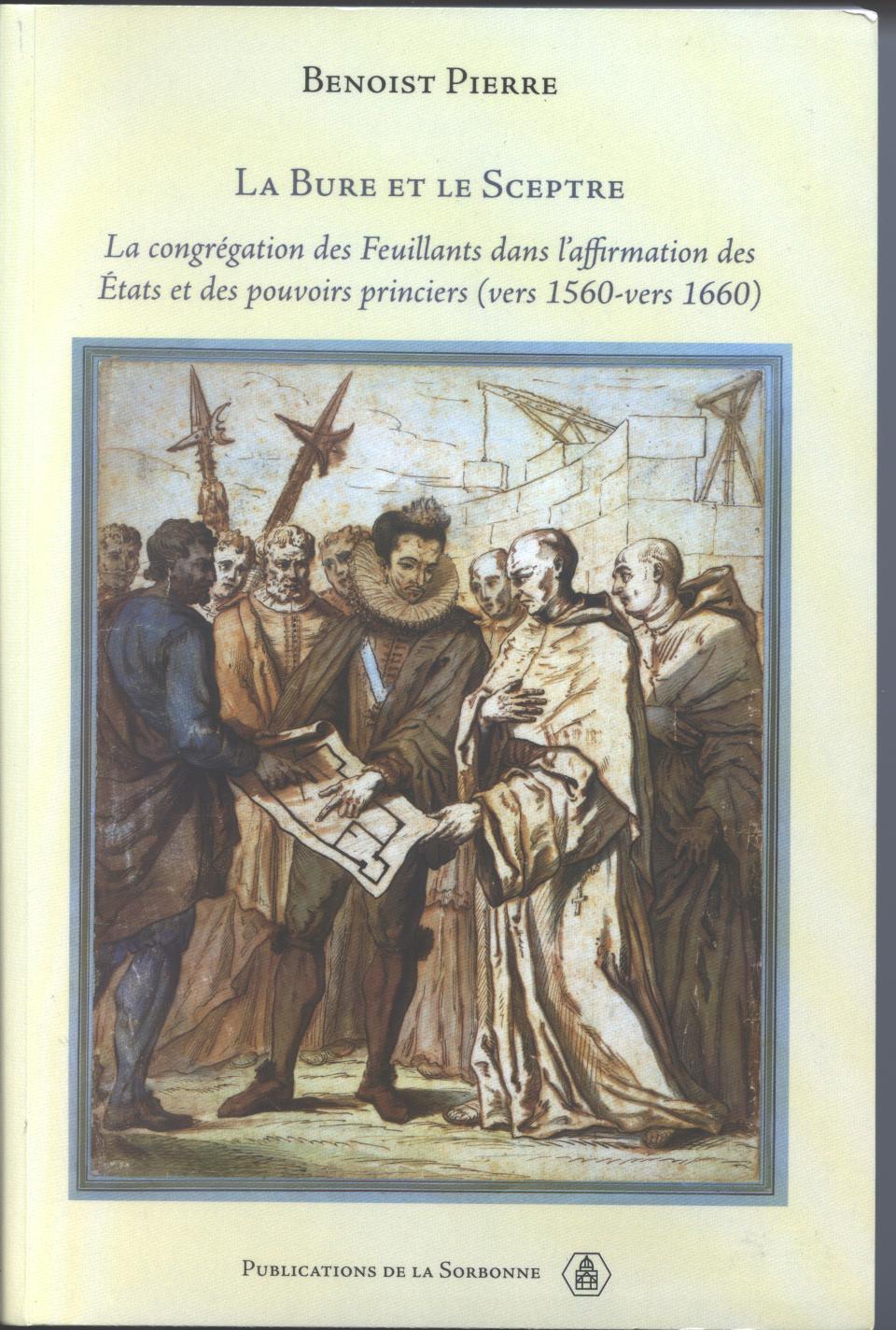 """Résultat de recherche d'images pour """"Benoist Pierre, La bure et le sceptre"""""""